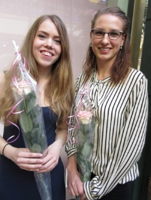 Sara Nordström ja Saara Vänskä